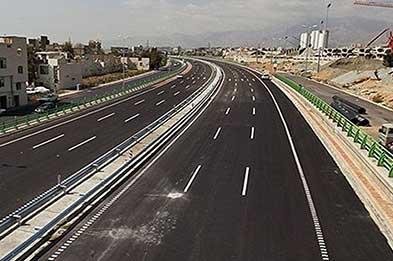 آزادراه تهران- شمال قبل از زمستان افتتاح میشود