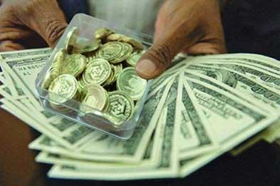 ادامه عقبگرد نرخ دلار و سکه