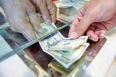 نرخ دلار ۲۰۰ تومان پایین آمد