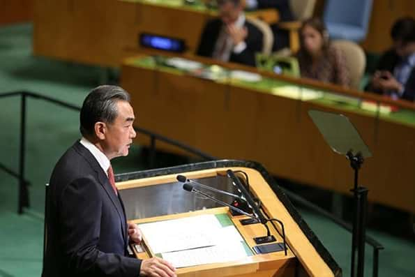 وزیر خارجه چین: شیشه روابط با آمریکا شکسته شده است