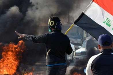 دخالت ۱۴ سفارتخانه در اعتراضات عراق