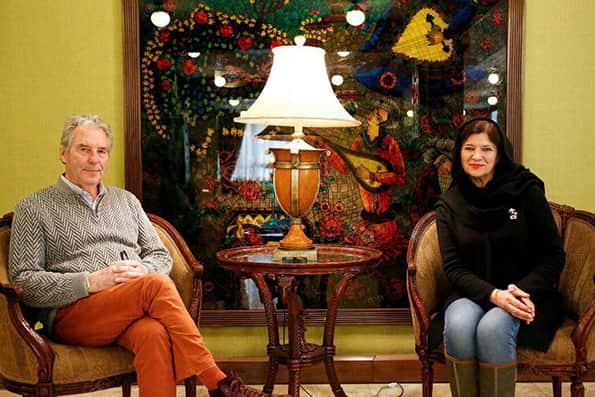 زوج هنرمند فرانسوی: جذب ایران و مردمش شدیم