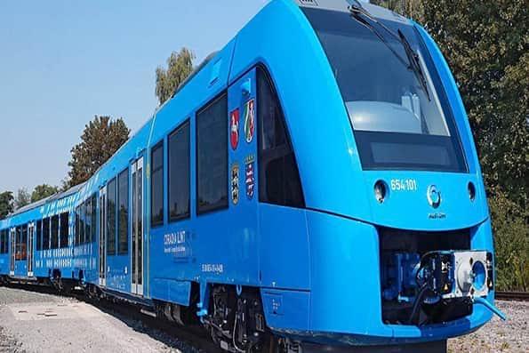 راهاندازی نخستین قطار هیدروژنی جهان