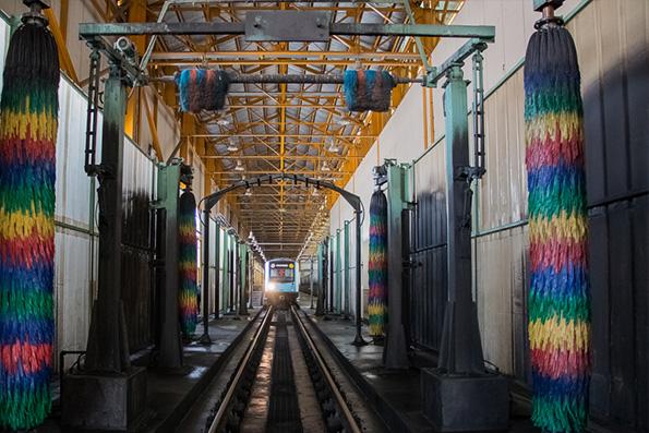تقدیر از مترو به خاطر فعالیتهای زیست محیطی پایانه مهرشهر