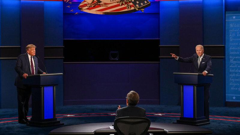 بایدن و ترامپ در نخستین مناظره انتخاباتی چه گفتند؟