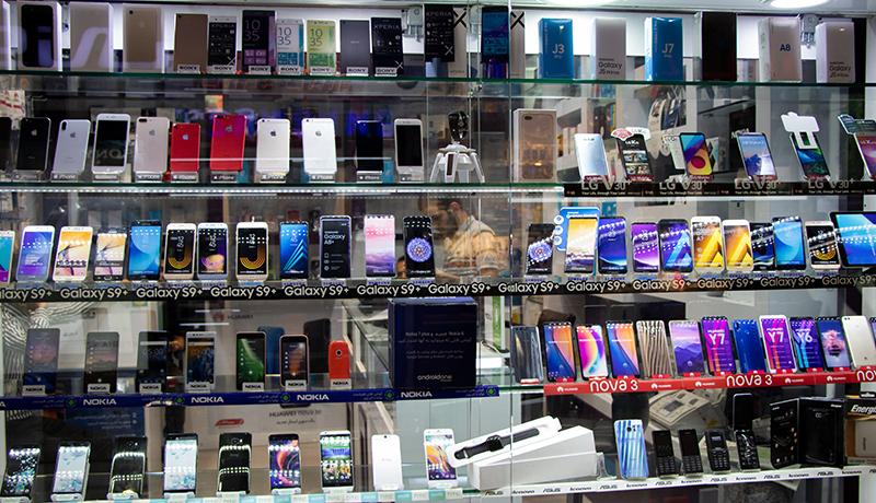 افزایش ۹۰ درصدی واردات موبایل در سال گذشته