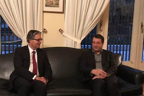 دیدار وزیر صمت با هاکان تکین در روز ملی جمهوری ترکیه
