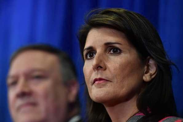 نیکی هیلی سفیر آمریکا در سازمان ملل استعفا کرد