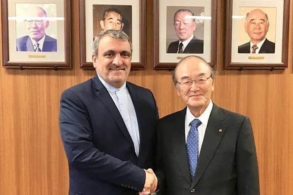 اتاق بازرگانی ژاپن آماده توسعه همکاری با ایران است
