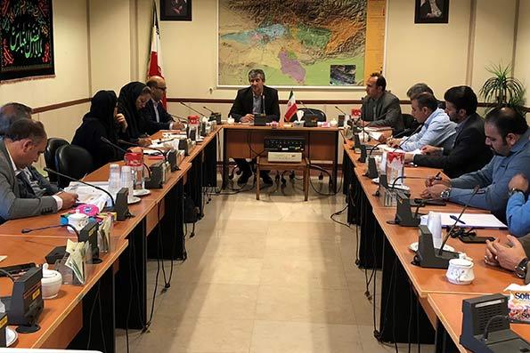 تشکیل پاویون معرفی فرصتهای سرمایه گذاری استان تهران در کیش اینوکس2019