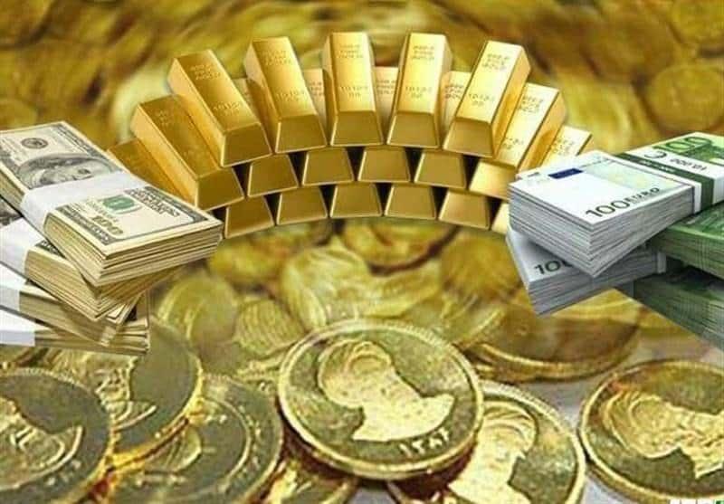 قیمت زنده طلا،سکه و ارز